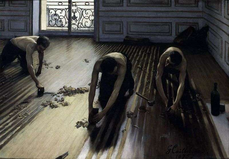 Parquets by Gustave Caillebotte