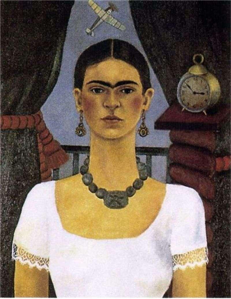 Self portrait. Time flies by Calo Frida