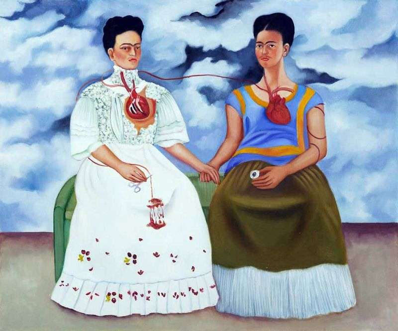 Two Frida by Frida Kahlo