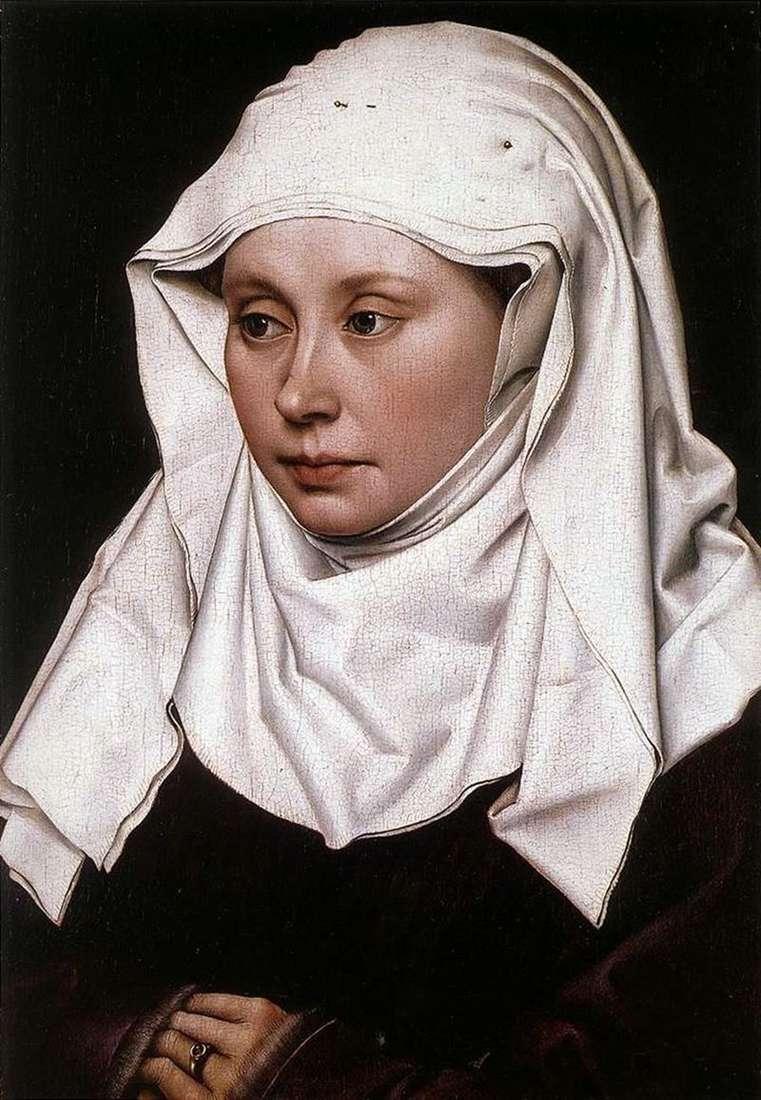 Portrait of a Woman by Robert Kampen
