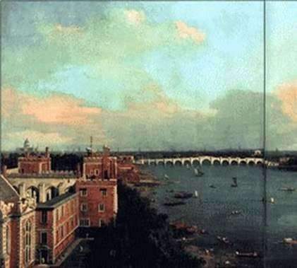 View of London by Antonio Canaletto