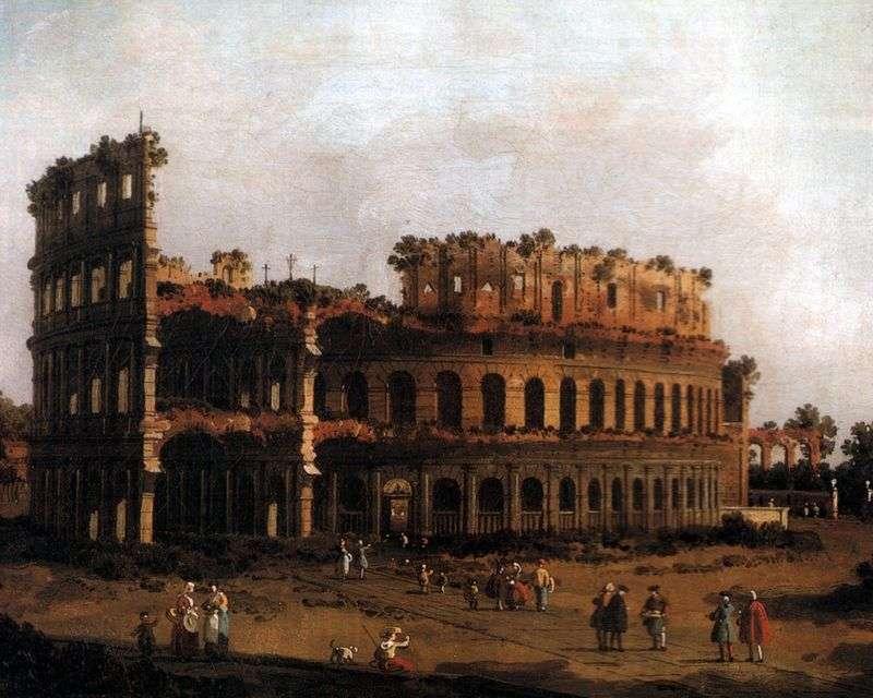 Colosseum by Antonio Canaletto