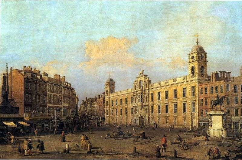 London, Northumberland House by Antonio Canaletto