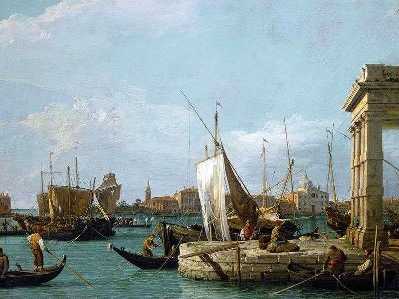Customs by Antonio Canaletto
