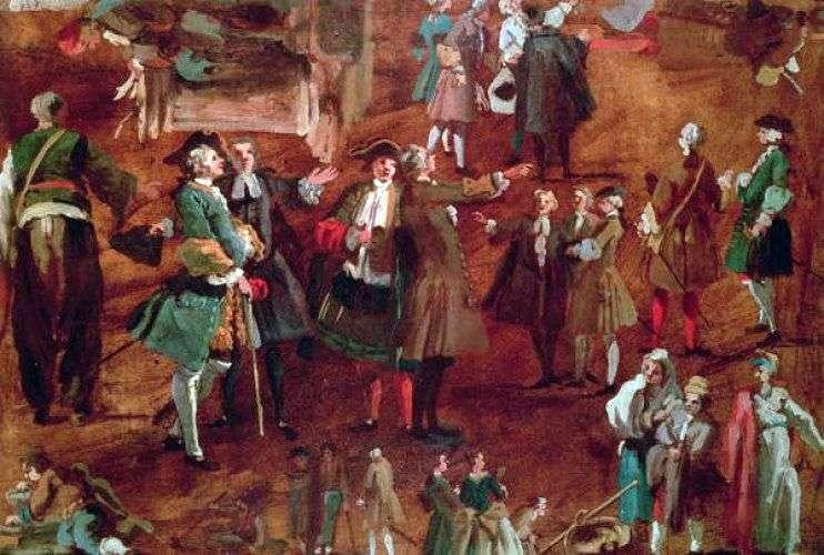 Etude &; quot; Figures &; quot; by Antonio Canaletto
