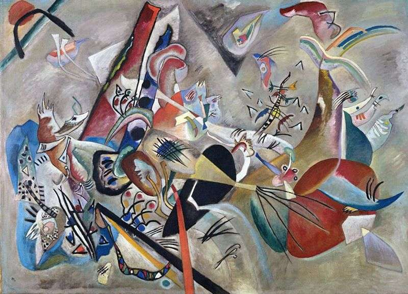 In the gray by Vasily Kandinsky