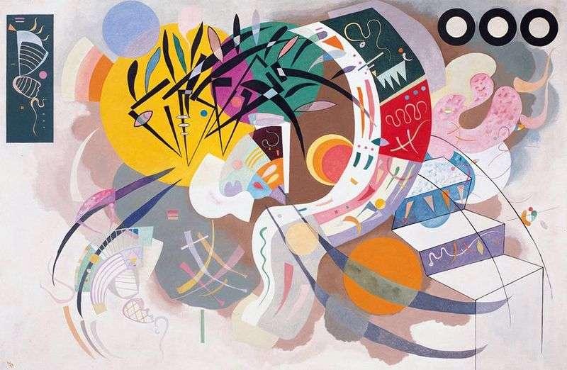 Dominant curve by Vasily Kandinsky
