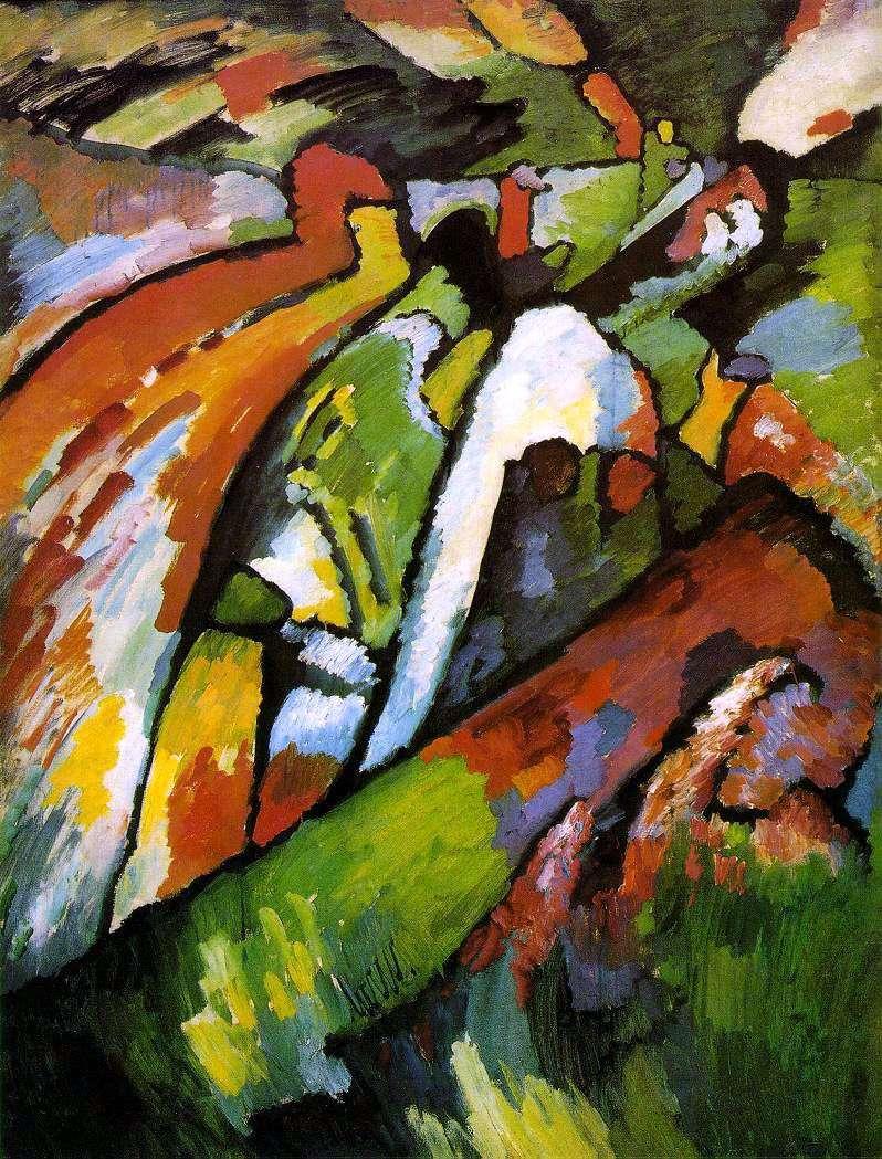 Improvisation 7 by Vasily Kandinsky