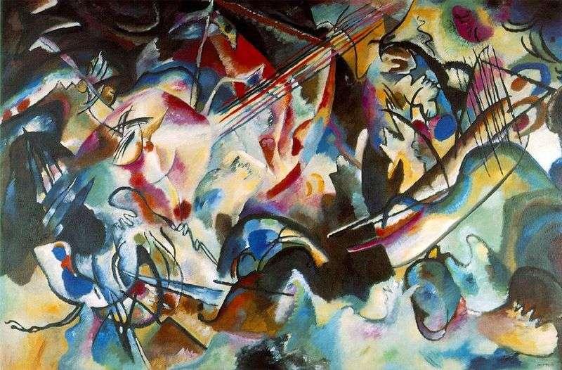 Composition VI by Vasily Kandinsky