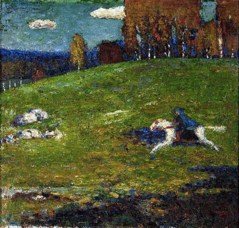 The Blue Horseman by Vasily Kandinsky