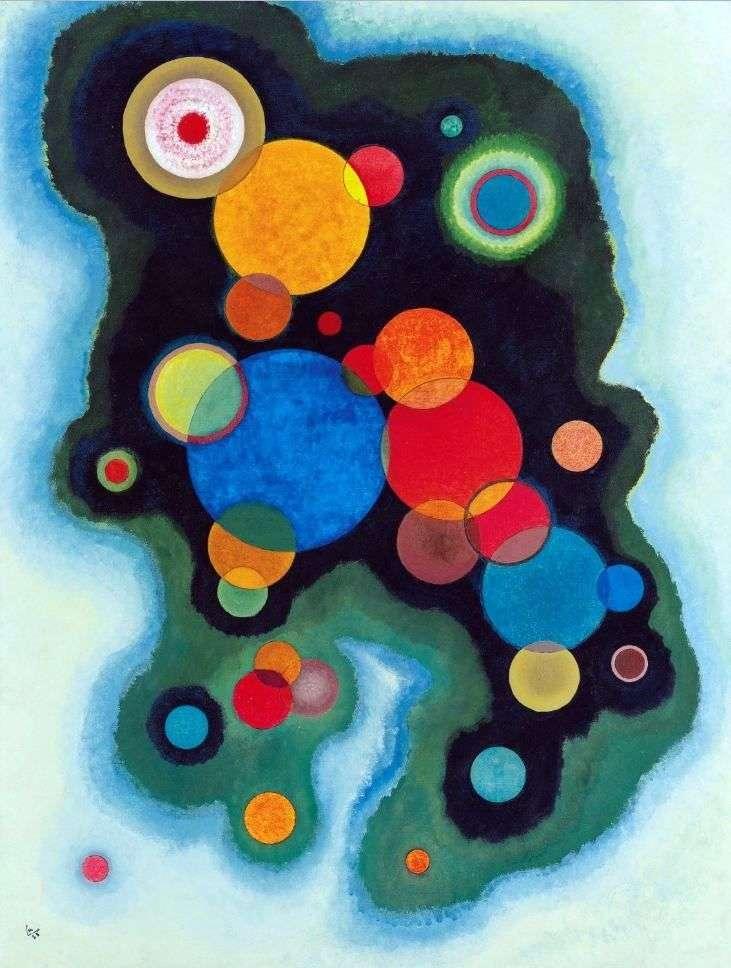 In depth impulse by Vasily Kandinsky