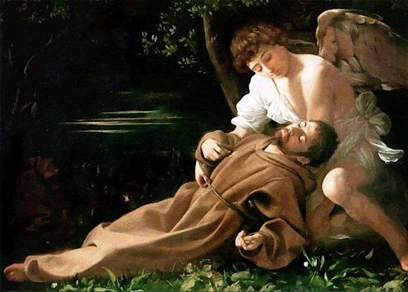 The Bliss of St. Francis by Michelangelo Merisi and Caravaggio