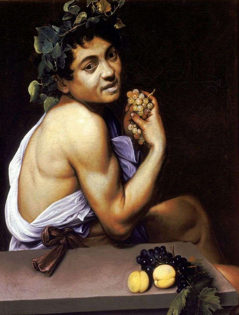 Patient Bacchus by Michelangelo Merisi and Caravaggio