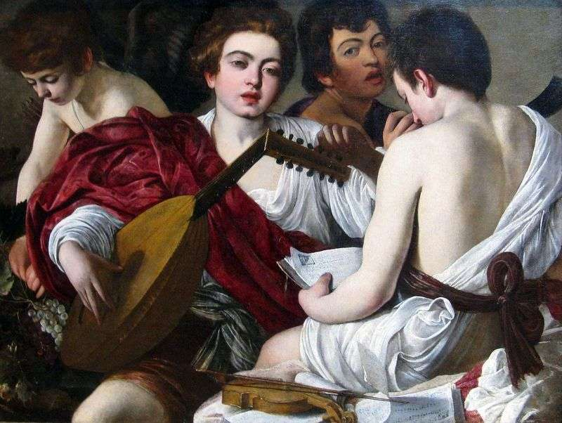 Musicians by Michelangelo Merisi and Caravaggio