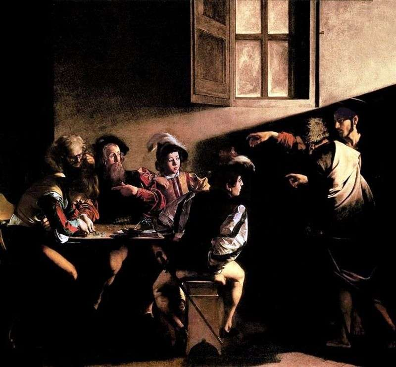 Appeal of the Apostle Matthew by Michelangelo Merisi and Caravaggio
