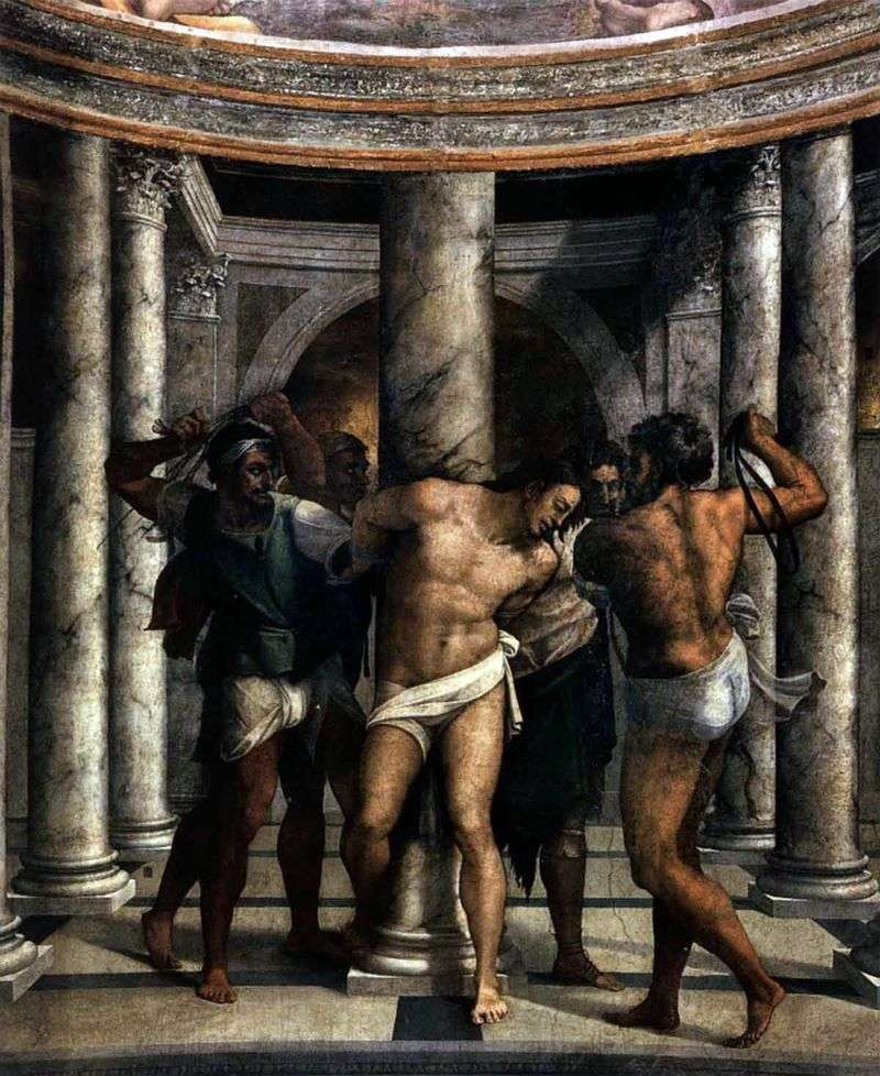 Piombo. The Scourging of Christ by Michelangelo Merisi and Caravaggio