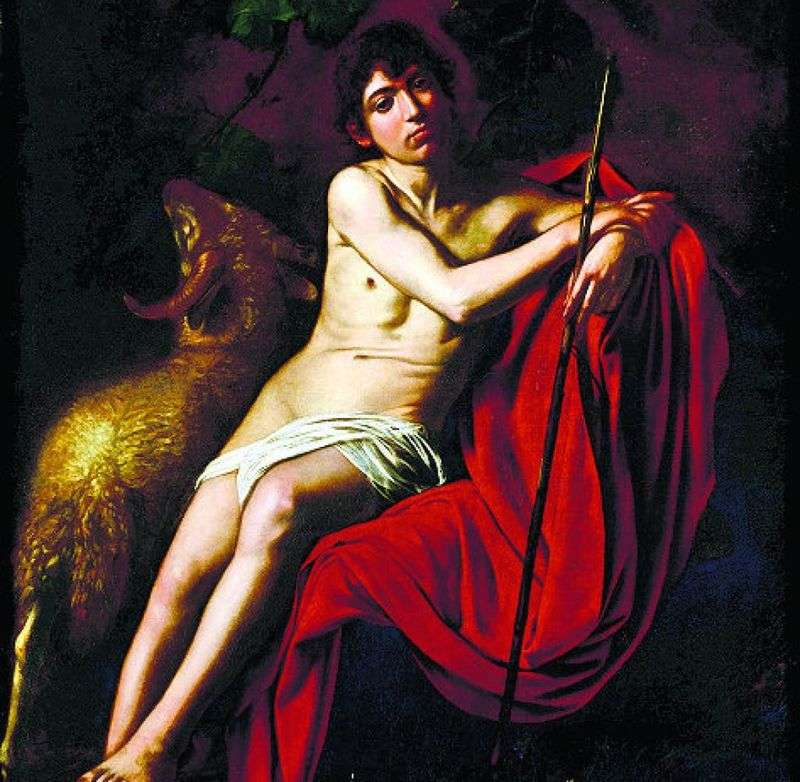 St. John the Baptist by Michelangelo Merisi and Caravaggio