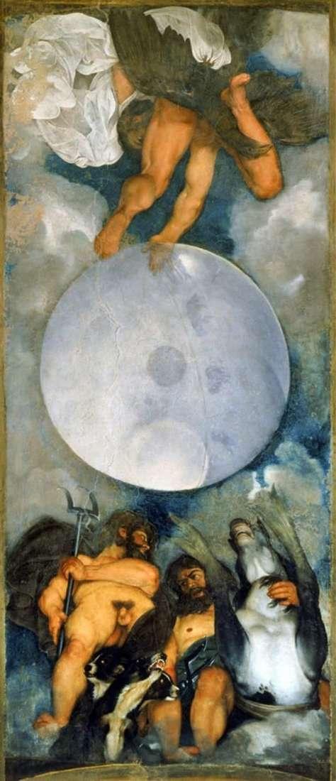Jupiter, Neptune and Pluto by Michelangelo Merisi da Caravaggio