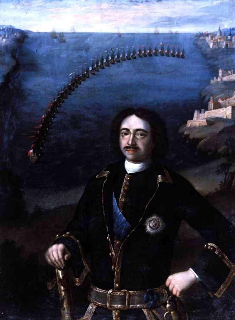 Portrait of Peter I by Louis Caravacq