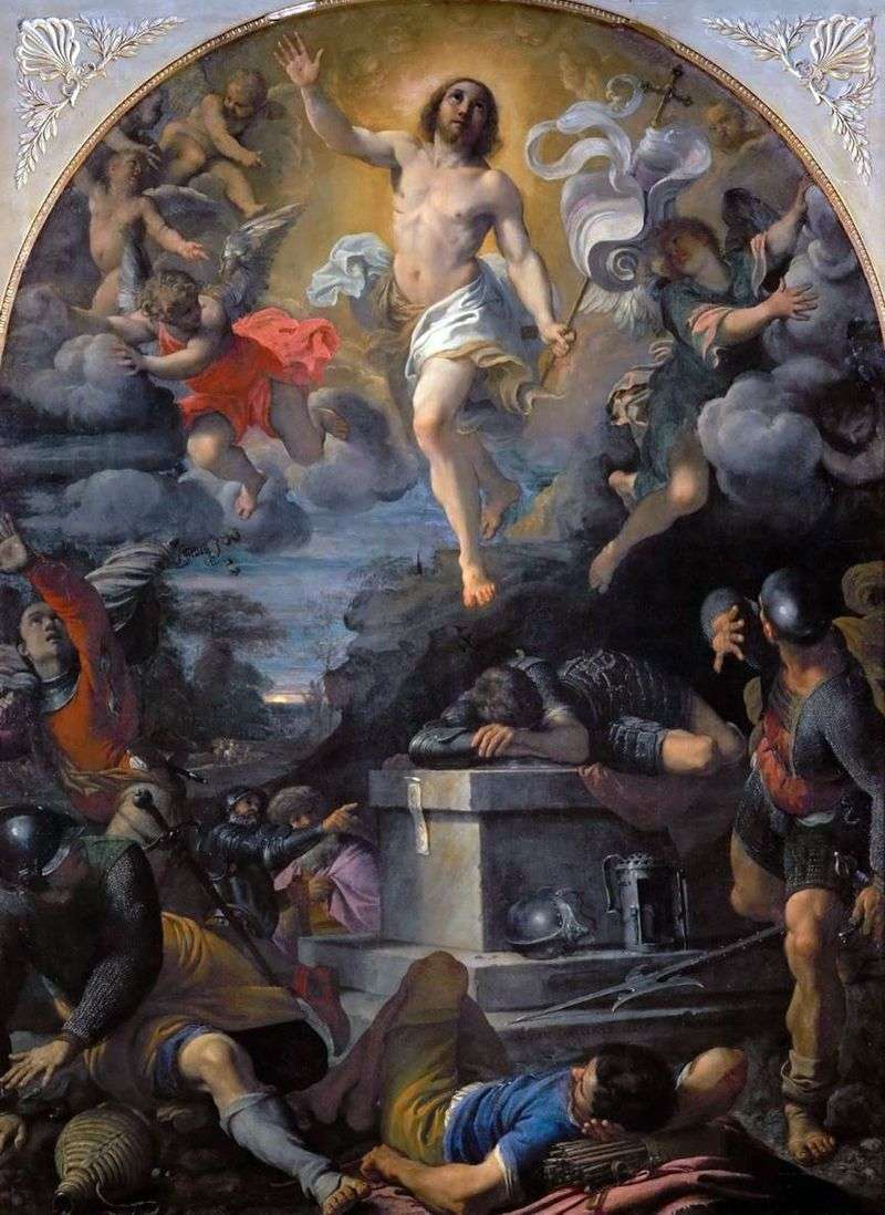 The Resurrection of Christ by Annibale Carracci