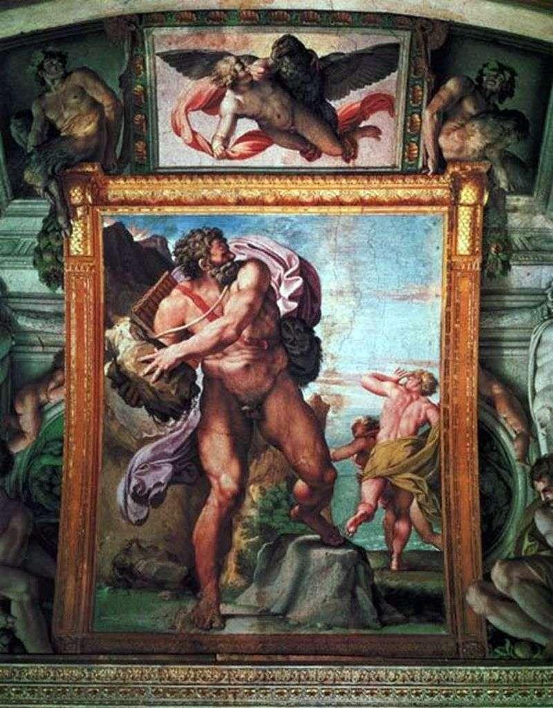 Wrath of Polyphemus by Annibale Carracci