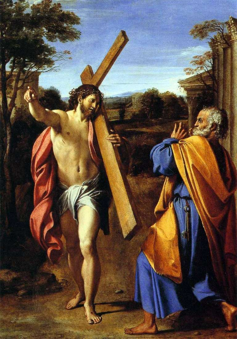 Lord, what are you? by Annibale Carracci