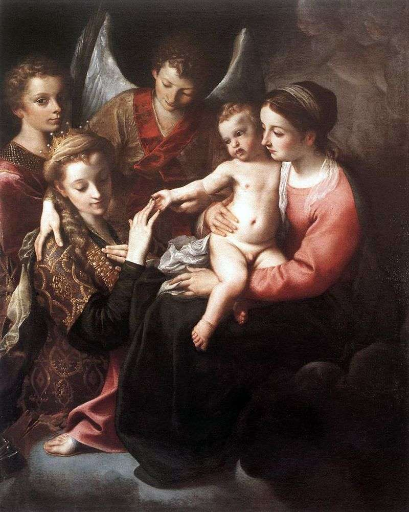 Betrayal of St. Catherine by Annibale Carracci