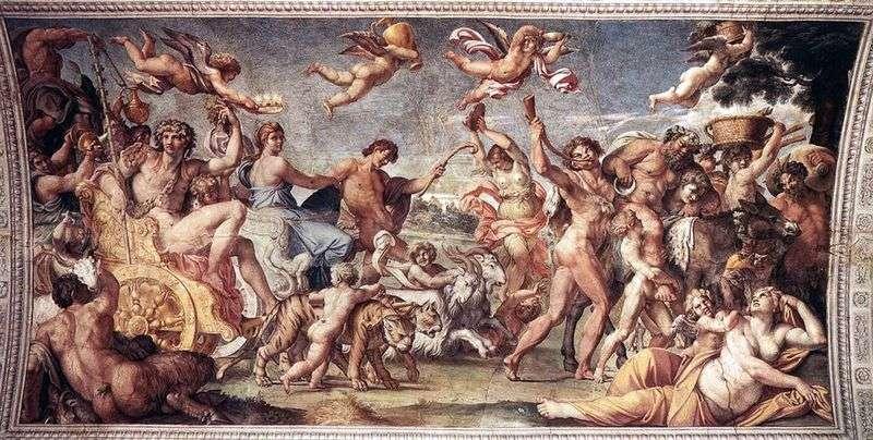 Triumph of Bacchus and Ariadne by Annibale Carracci