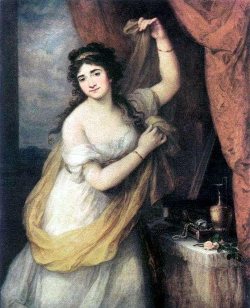 Portrait of Princess Esterhazy by Angelika Kaufman