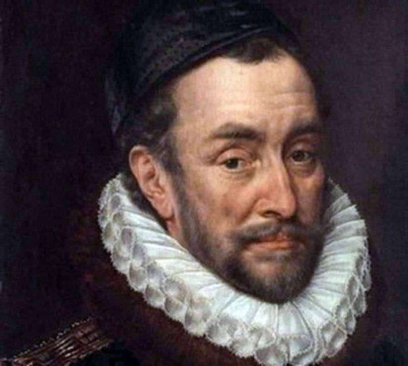 Portrait of Wilhelm Orensky by Adrian Kay