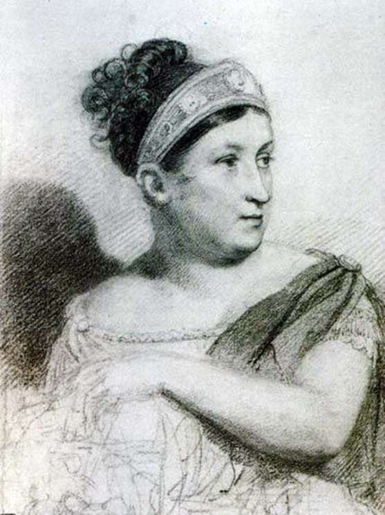 Portrait of actress ES Semenova by Orest Kiprensky