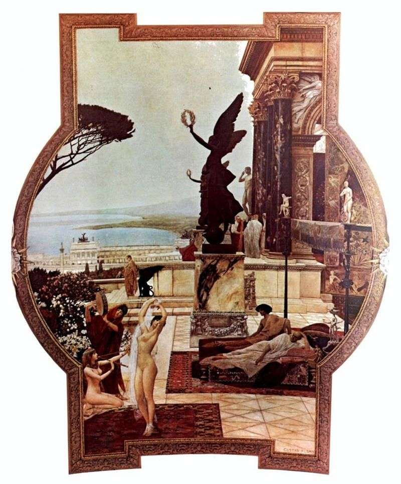 Theater of Taormina by Gustav Klimt