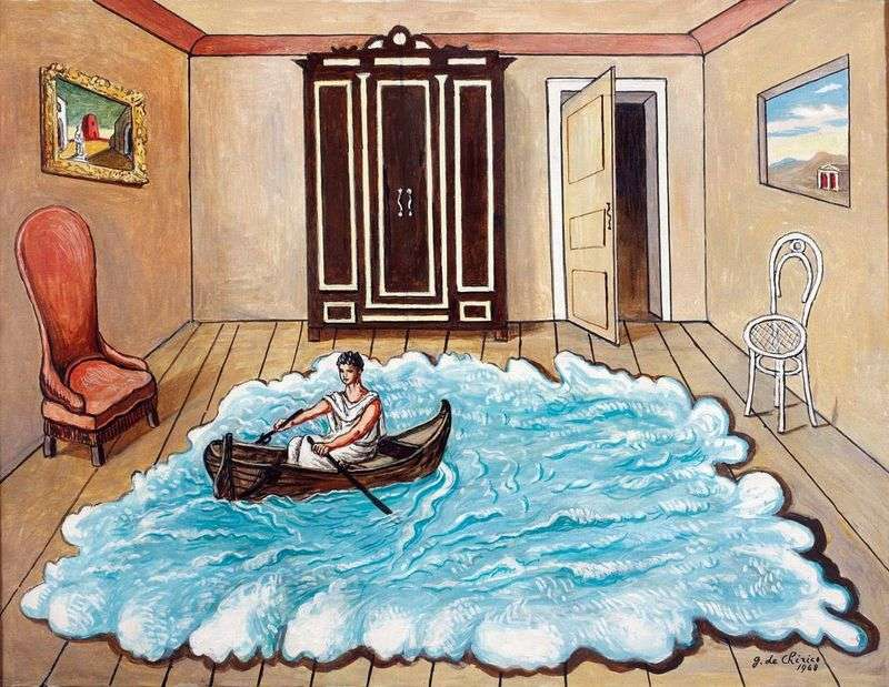 Return of Ulysses by Giorgio de Chirico