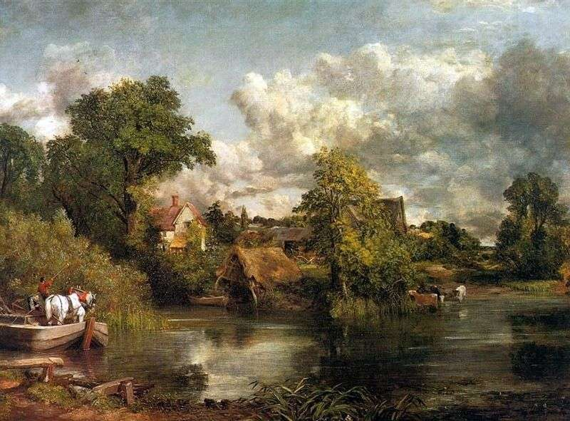White Horse by John Constable