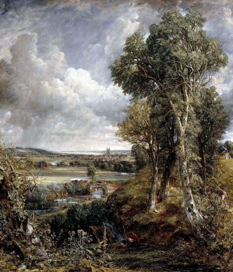 Dedham Valley by John Constable