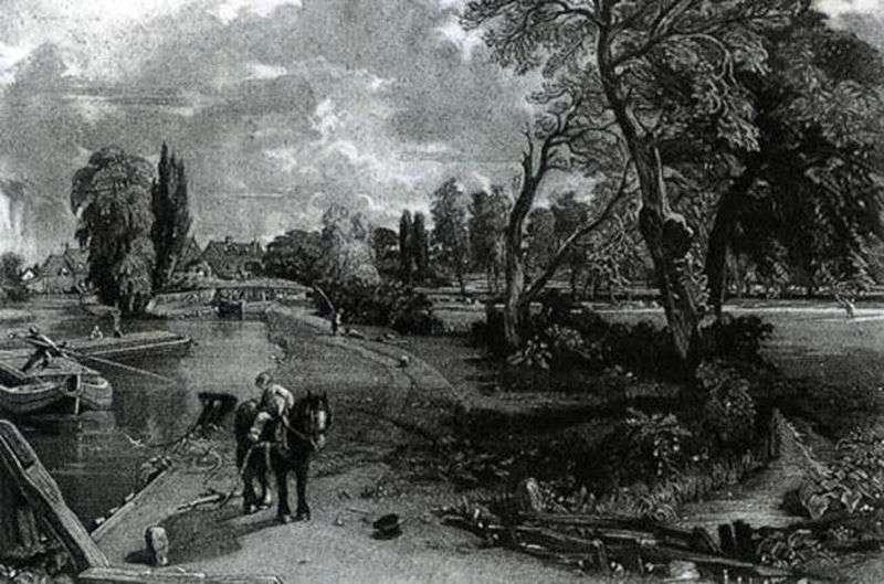 Mezzo Tinto by John Constable