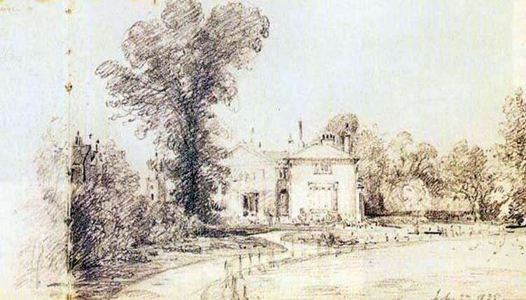 Outline by John Constable