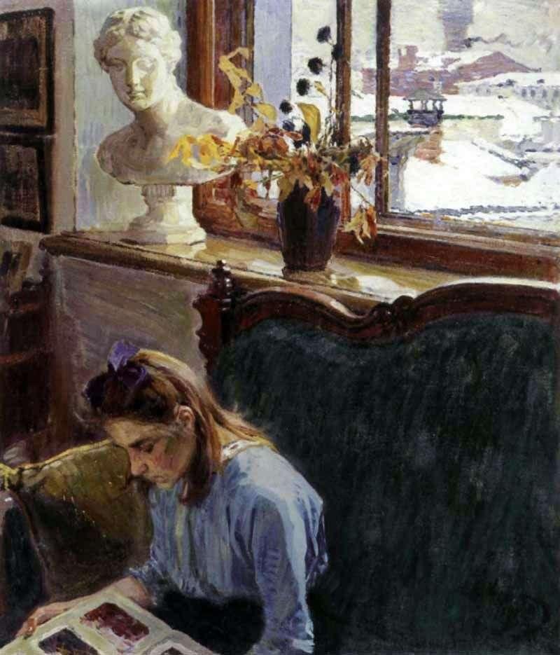 Window by Alexei Korin