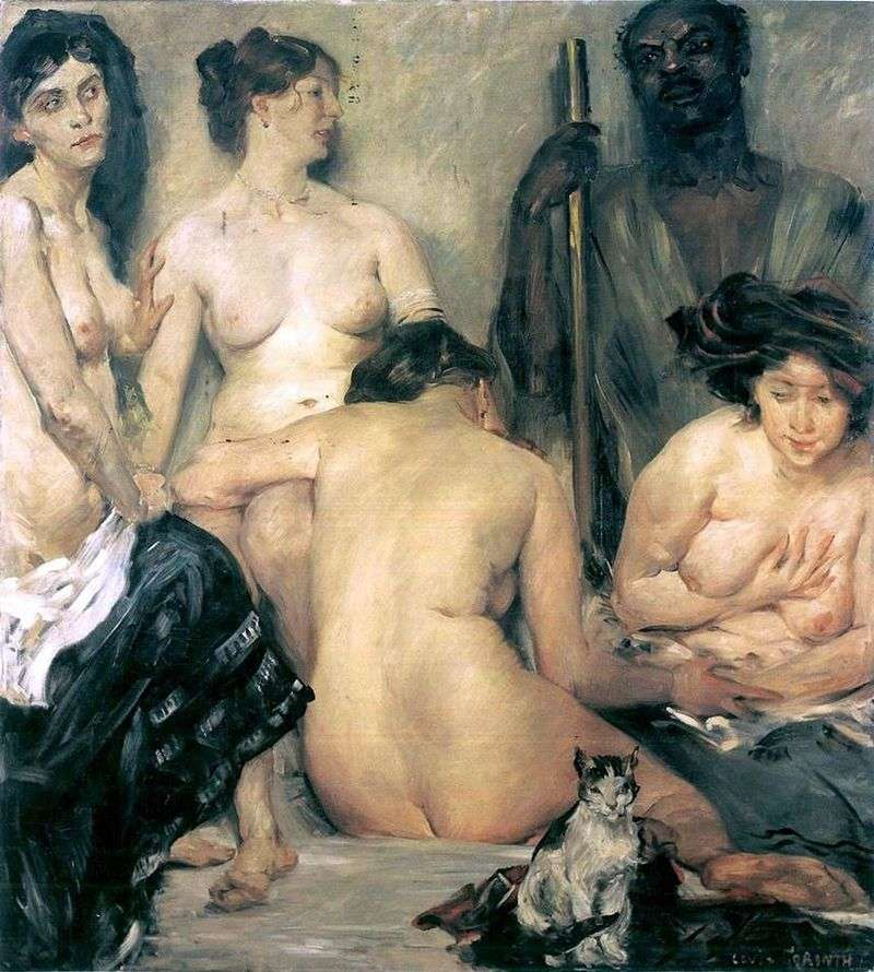 Harem by Lovis Corinth