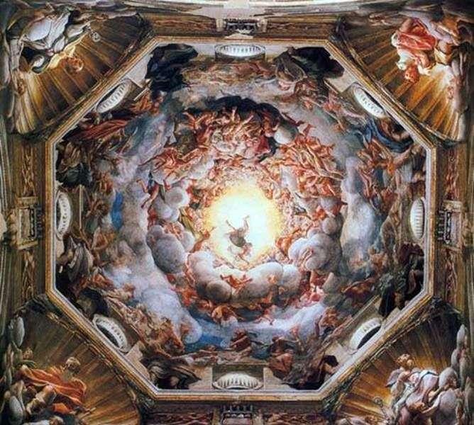 Ascension of Our Lady by Correggio (Antonio Allegri)