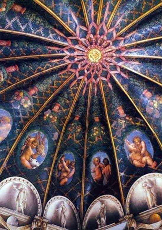 Paintings of the Monastery of San Paolo in Parma by Correggio (Antonio Allegri)