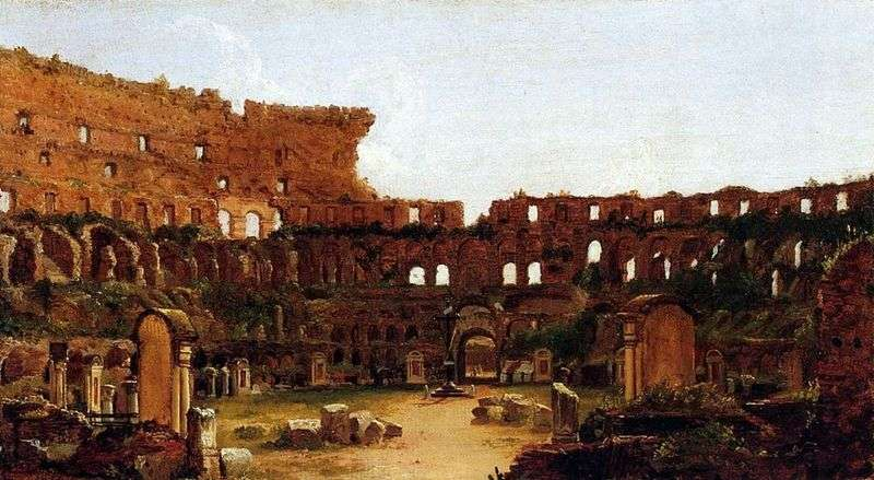 The ruins of the Coliseum by Thomas Cole