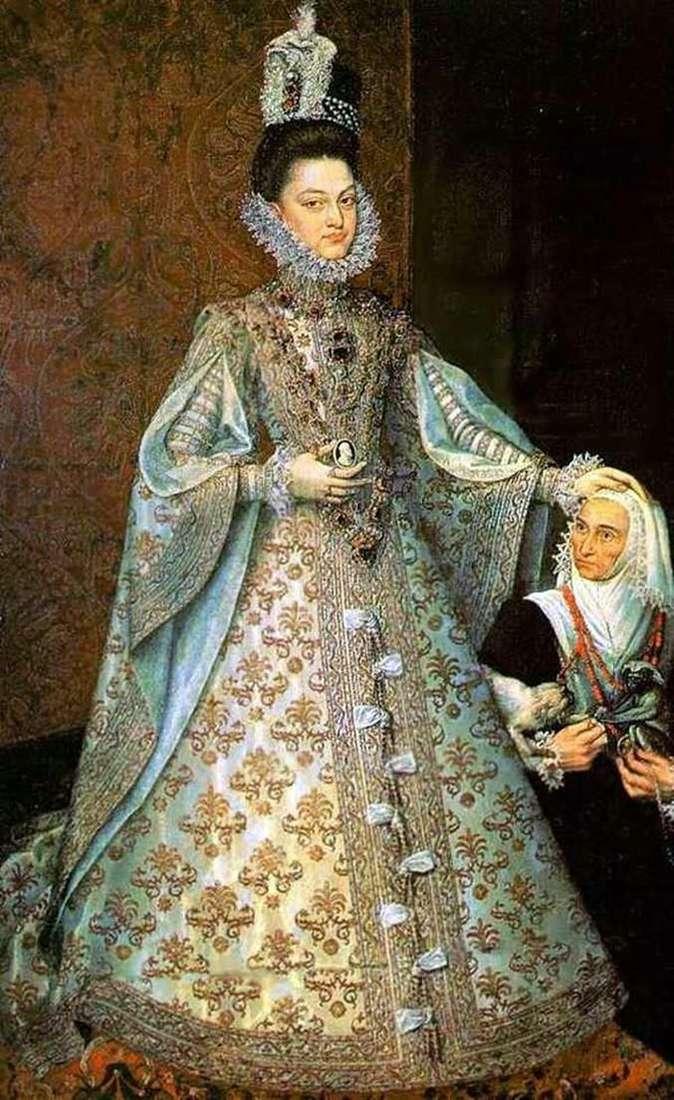 Infanta Isabel and Magdalena Ruiz by Alonso Sanchez Coelho