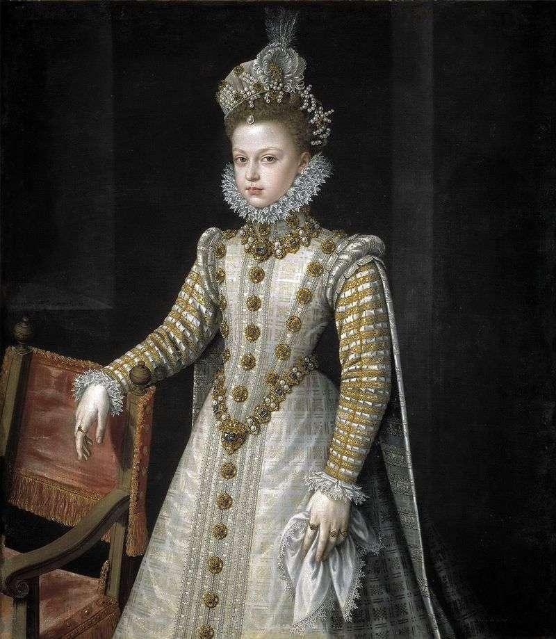 Infanta Isabel Kiafa Eugenio by Alonso Sanchez Coelho
