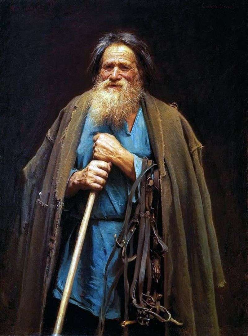 A peasant with a bridle by Ivan Kramskoy