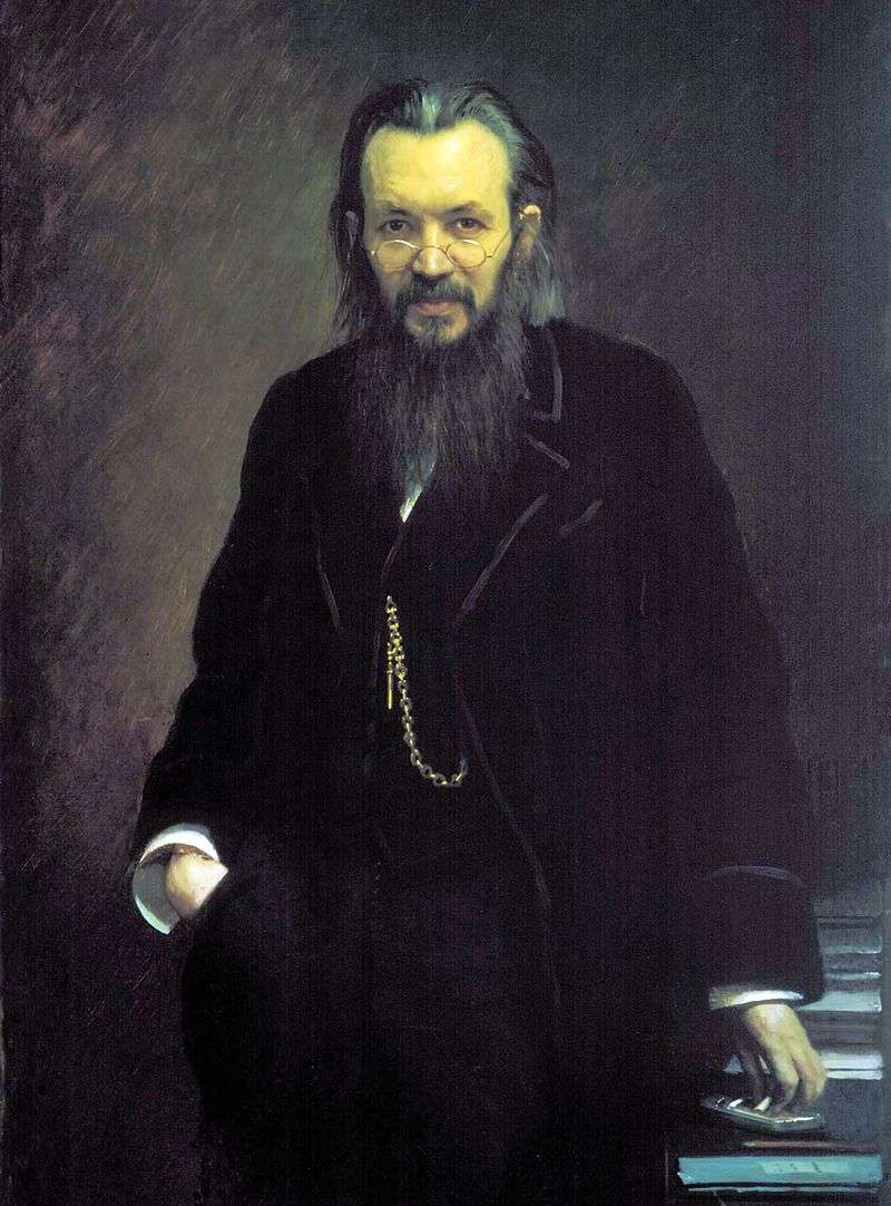 Portrait of A. Suvorin by Ivan Kramskoy
