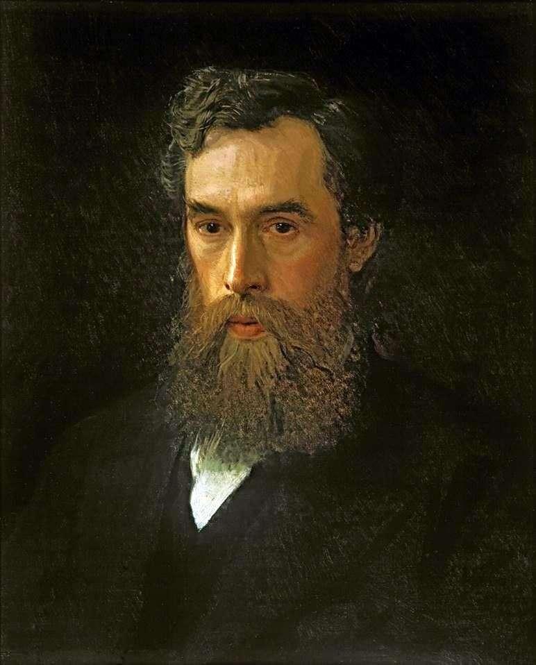 Portrait of Pavel Mikhailovich Tretyakov by Ivan Kramskoy