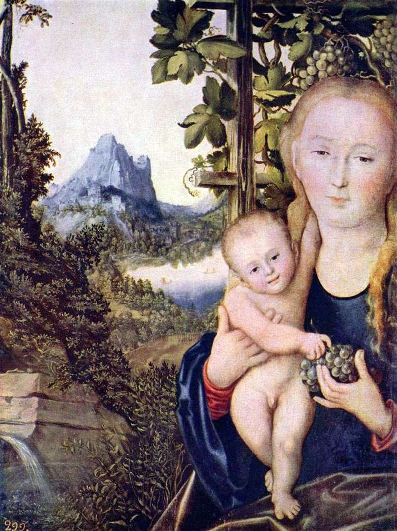 Madonna and Child by Lucas Cranach