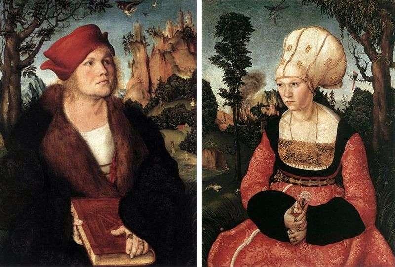 Cranach Cuspinian and wife