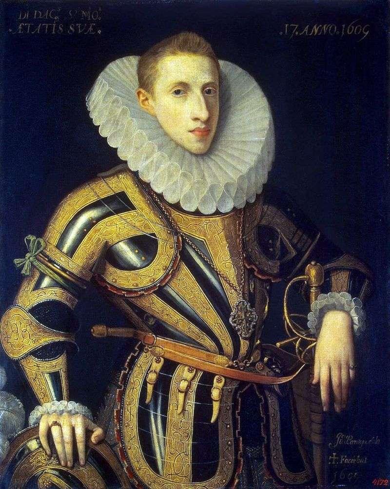 Portrait of Diego de Villamayor by Juan Pantoja de la Cruz